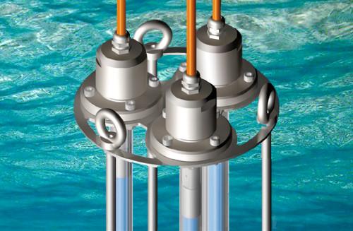Sistema de lámparas germicidas de ultravioleta para la desinfección interna de depósitos.