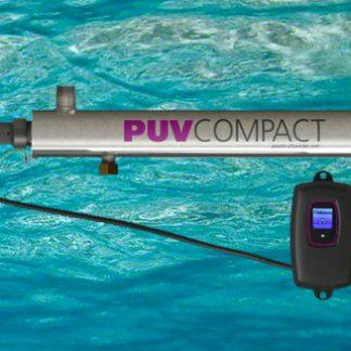 Reactor de lámparas germicidas de ultravioleta para la desinfección de pequeños caudales de agua.