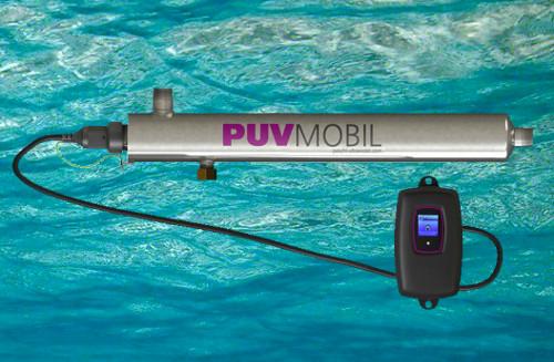Reactor de lámparas germicidas de ultravioleta para la desinfección de pequeños caudales de agua