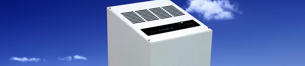 Sistema portable para tratamiento de aire.