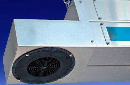 Sistema de lámparas de ultravioleta para el tratamiento de aire en almacenes