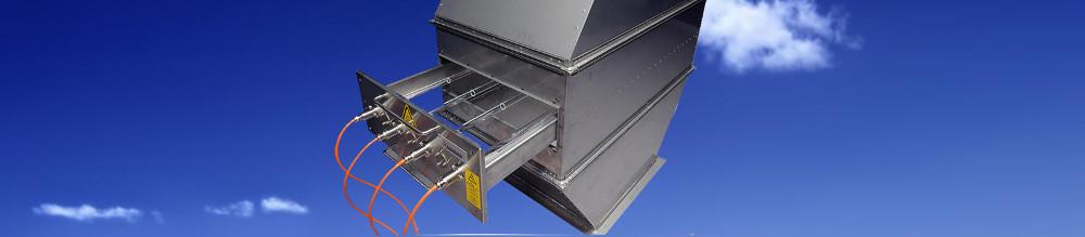 Sistema UV para tratamiento de aire en conductos.