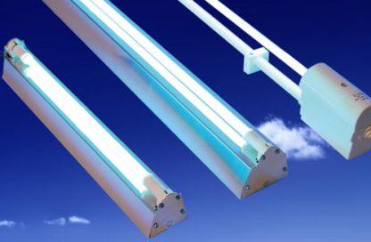 Lámparas de ultravioleta para la desinfección de salas