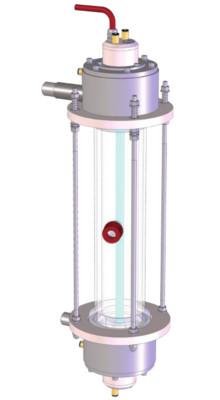 Fotoreactor para oxidación avanzada