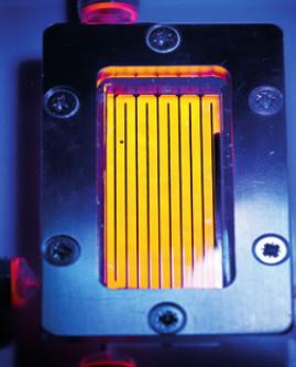 Lámparas de ultravioleta para fotoquímica